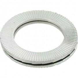 Delta Protekt Coated Carbon Steel 1522 Nord-Lock 1522 Wedge Locking Washer Pkg of 20, Pack of 5 1//4