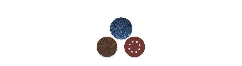 Velcro-fastening discs