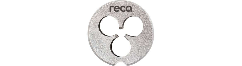 RECA threading die HSS DIN 223, metric