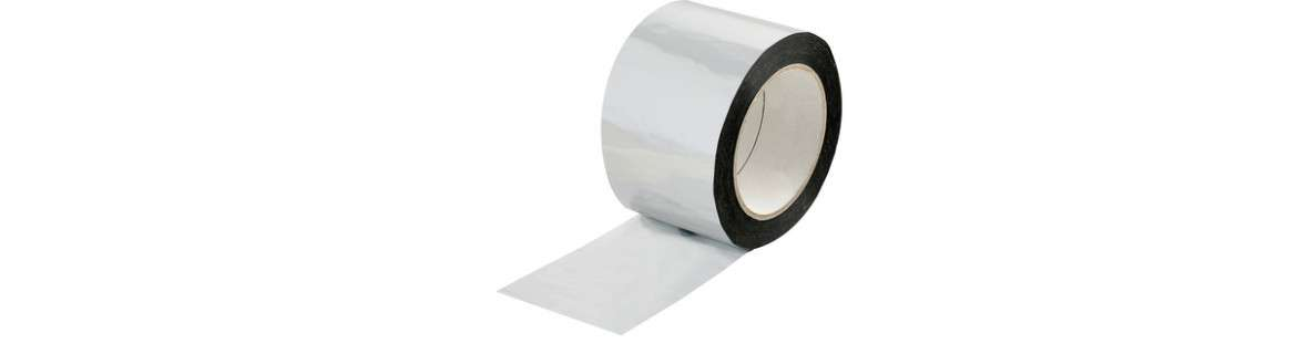 Aluminised poly adhesive tape