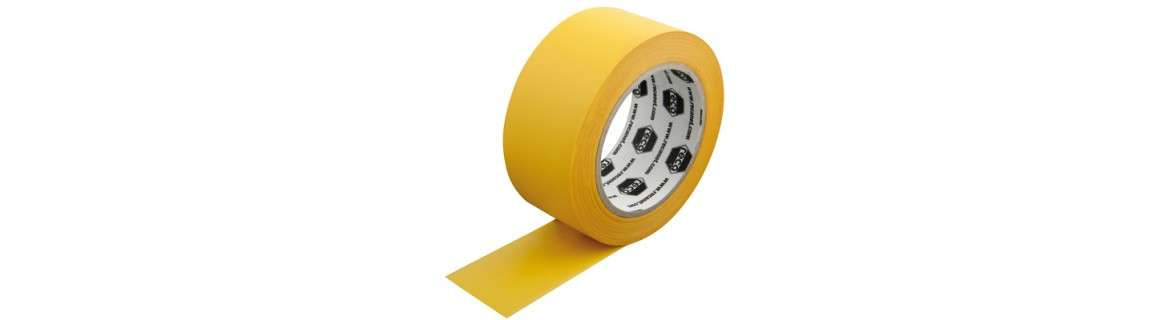 PVC plastering tape, grooved