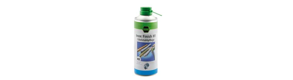 arecal st. steel cleaner Inox Finish H1