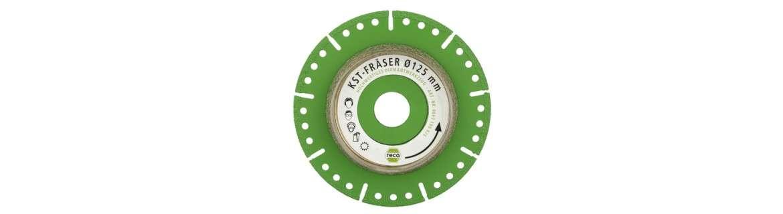 diaflex Special plastic milling cutter 115-125mm