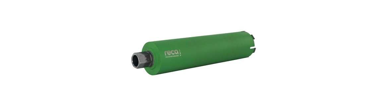 "reca diadrill dry core bits 1 1/4"" — 400 mm"