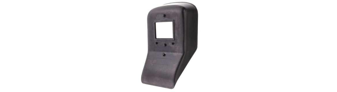 Pre-assembled welding protection shield