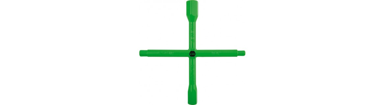 RECA plumbers' four-way wrench