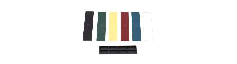 Glazing blocks, plastic