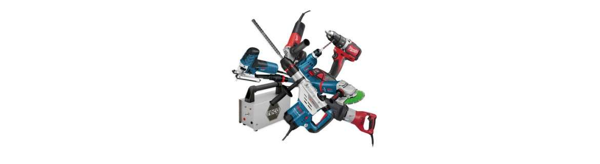 Electric tools and machines